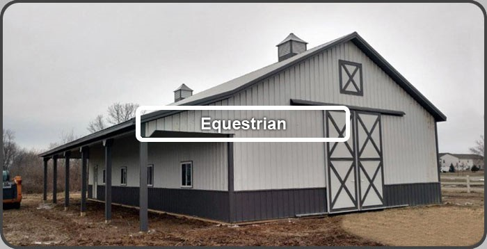 Equestrian Buildings, click for gallery
